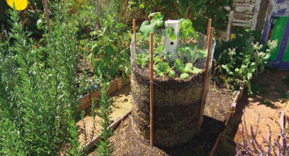 No Dig Planter Cage Diy Gardening Craft Recipes Renovating Better Homes And Gardens