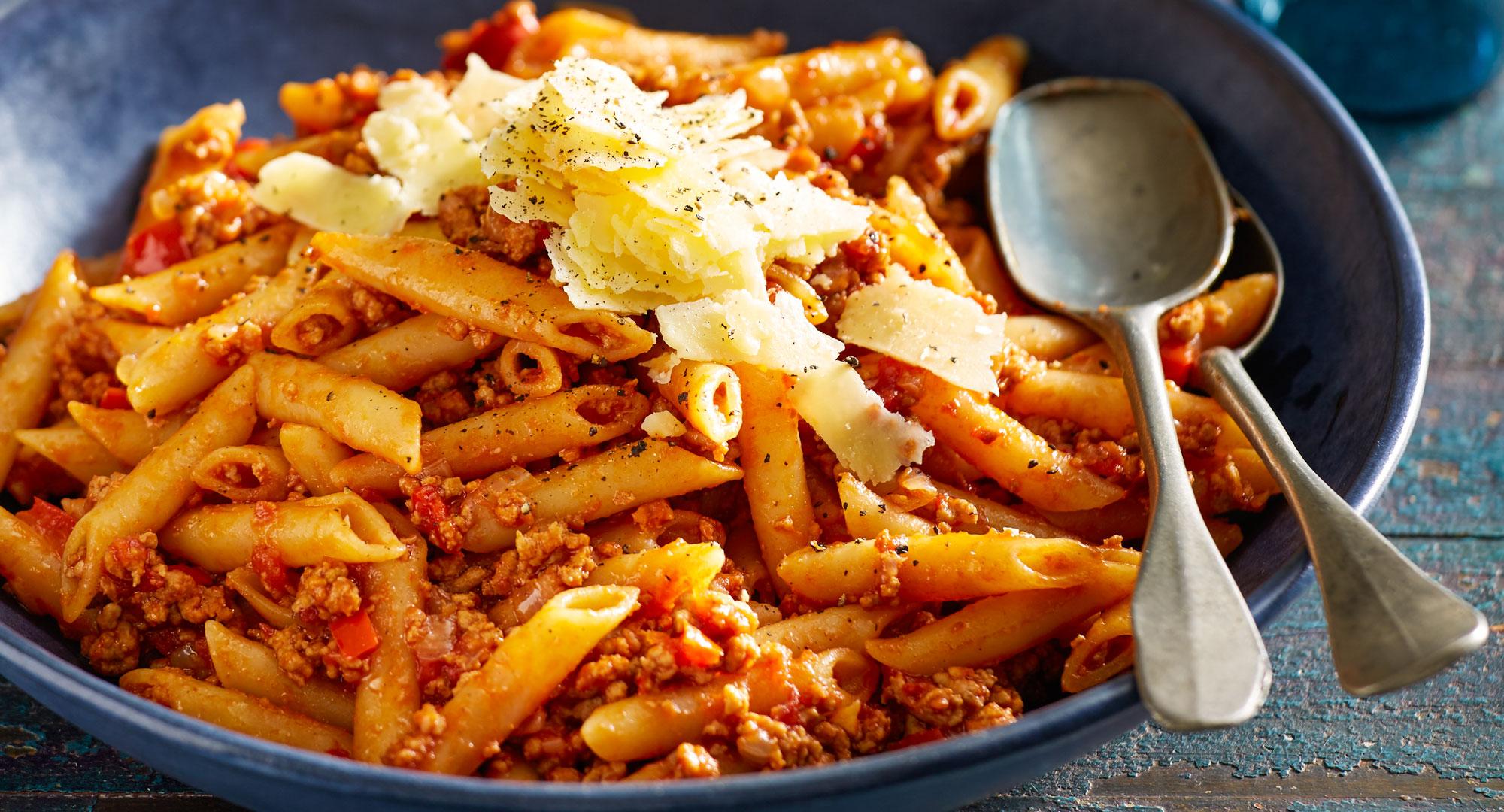 Penne Pork Bolognese All In One Pot Recipe Better Homes
