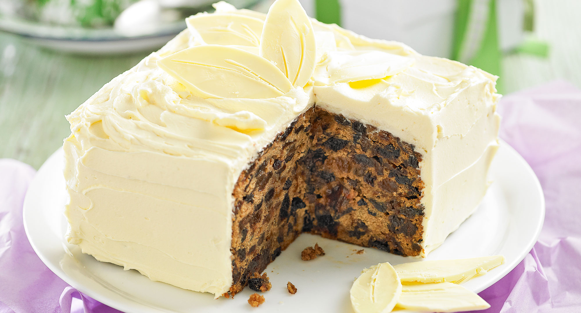 Traditional Christmas Cake Better Homes And Gardens