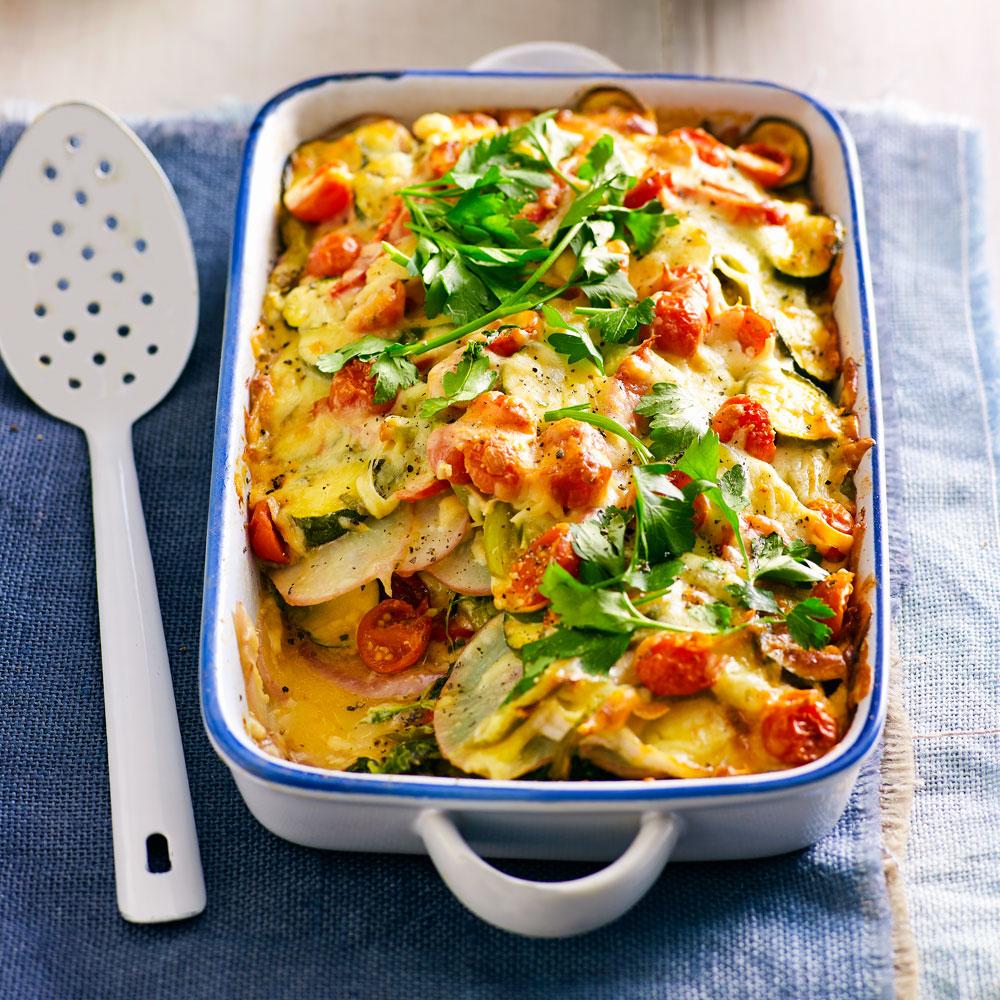 Green Vegetable Bake Recipe Better Homes And Gardens