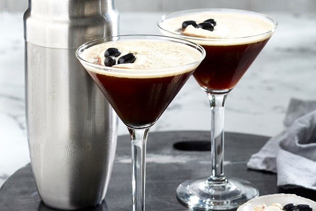 'Love is in the air' espresso martini