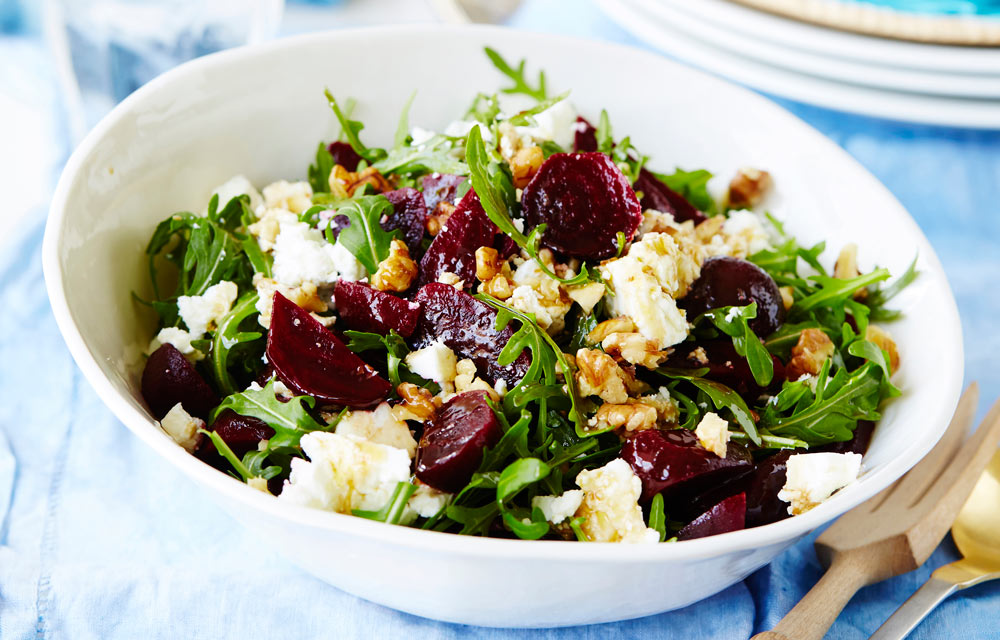 Easy Beetroot Rocket And Walnut Summer Salad Better Homes And Gardens