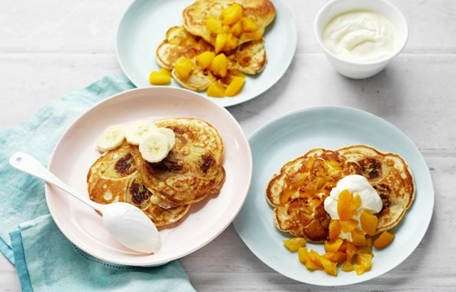 Easy fruit pancakes recipe better homes and gardens - Better homes and gardens pancake recipe ...