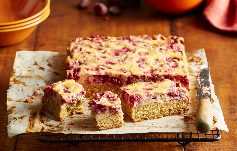 Raspberry Ricotta Slice Better Homes And Gardens