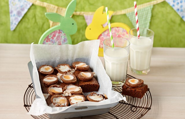 Creme Egg Chocolate Brownies Better Homes And Gardens - Better homes and gardens brownie recipe